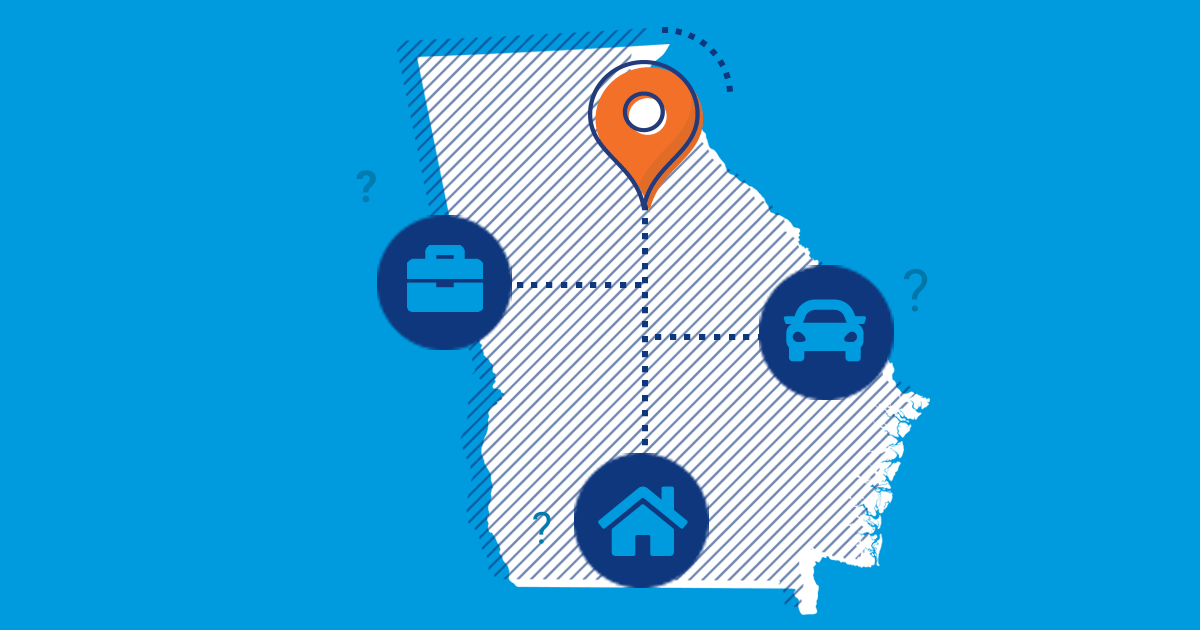 Moving to Georgia: By Someone Who's Never Been There