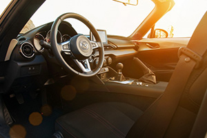 Mazda Miata Insurance Interior Features