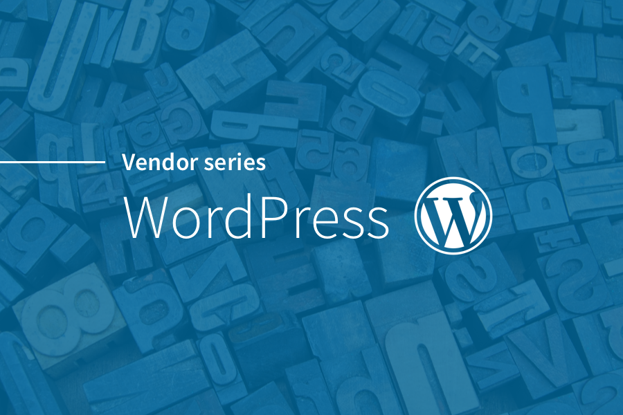 Vendor Series: WordPress | Distinction Thoughts | Distinction
