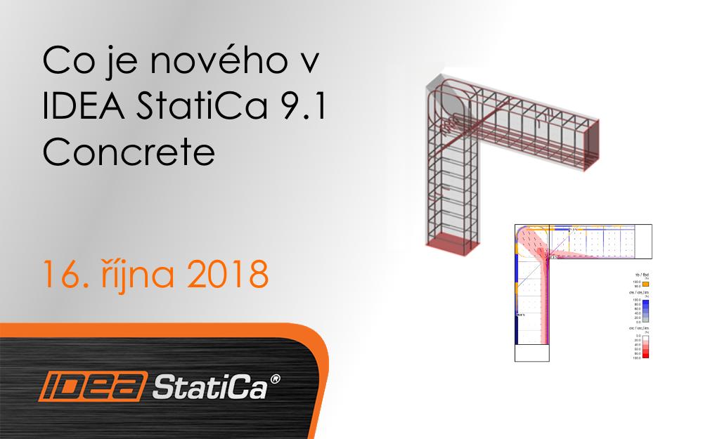 Co je nového v IDEA StatiCa 9.1 Concrete