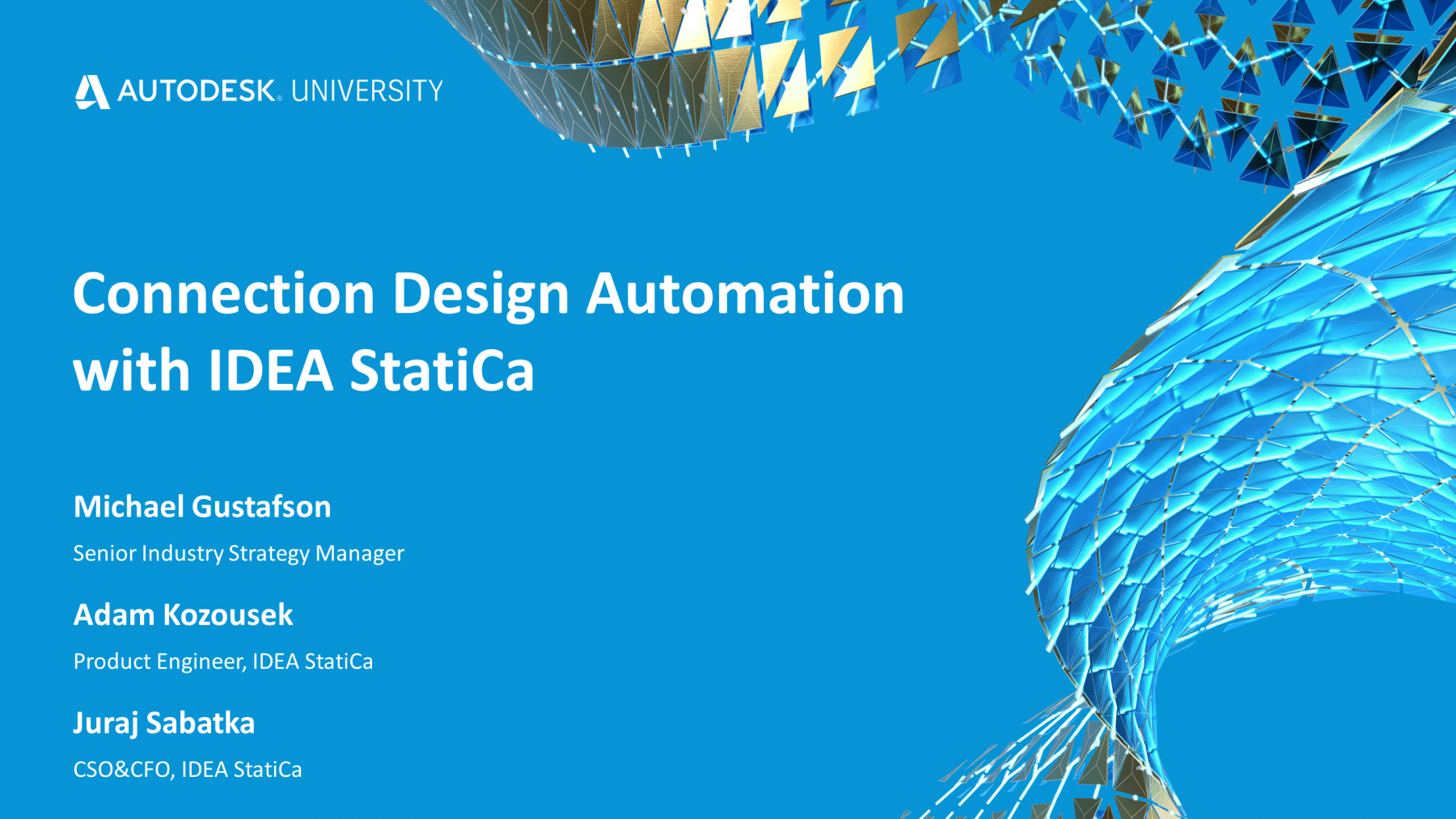 Connection Design Automation with IDEA StatiCa and Autodesk