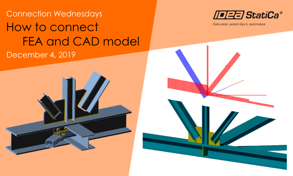 Connection Wednesdays – How to connect FEA and CAD model