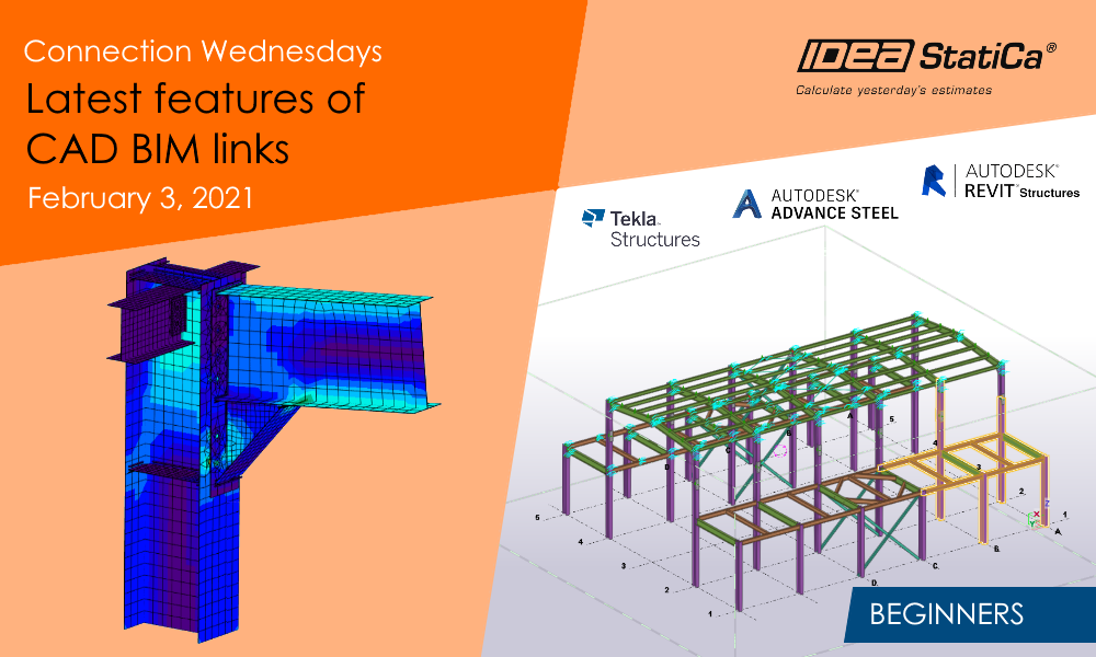 Connection Wednesdays – Latest features of CAD BIM links