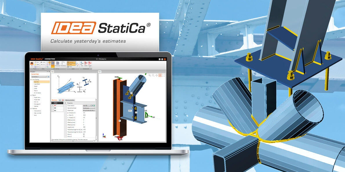 Combine Tekla Structures and IDEA StatiCa for Truly Constructible Complex Connection Design