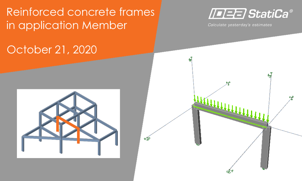 Reinforced concrete frames in application Member