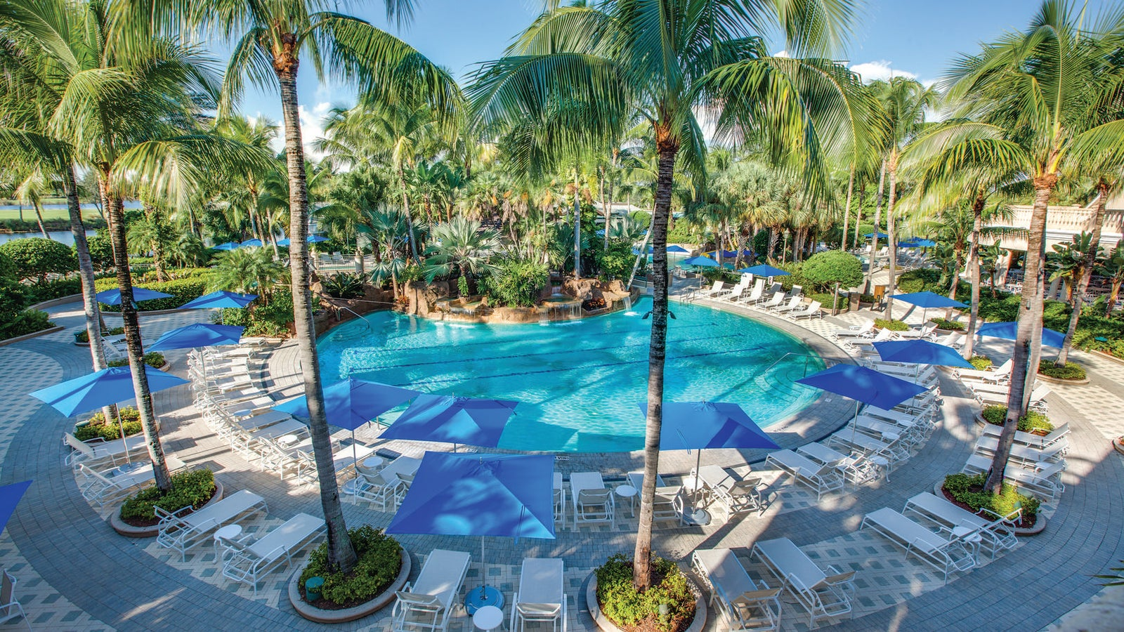 Resort Style Pool at Fiddler's Creek in Naples Florida