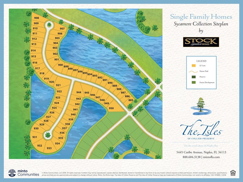 The Sycamore Collection at The Isles of Collier Preserve in Naples Florida