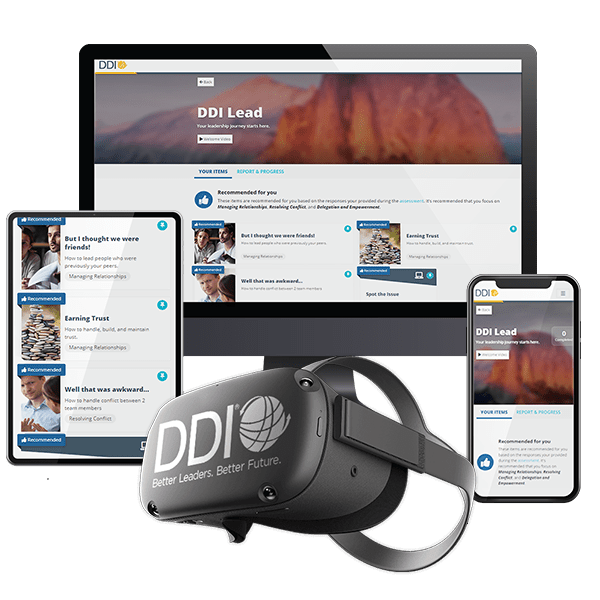 DDI Services on different screens