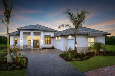 The Chandler at Country Club East in Lakewood Ranch Florida (Elevation A)