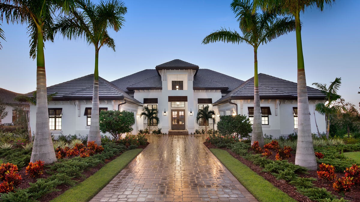 The Clairborne II at The Lake Club in Lakewood Ranch Florida