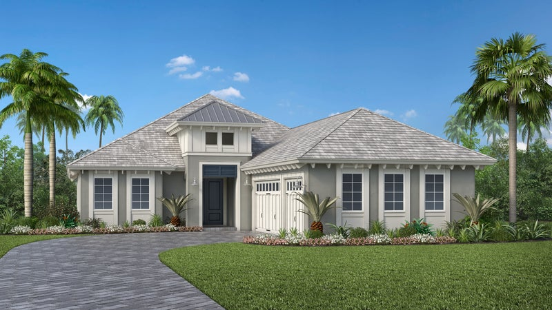 The Easton Model by STOCK Signature Homes (Elevation G)