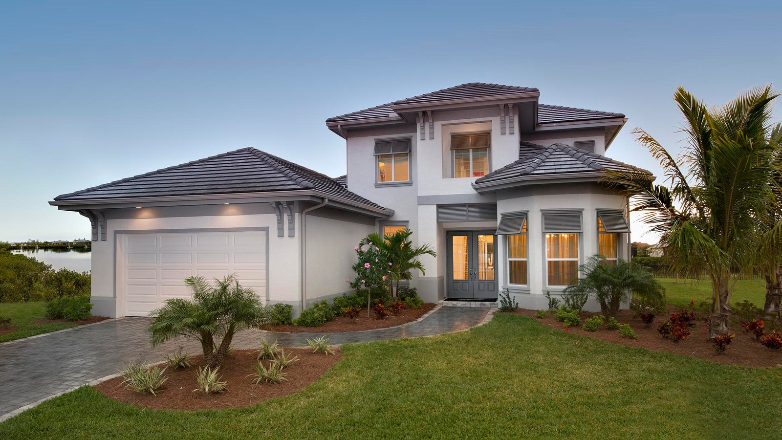 The Corleone by STOCK Signature Homes at Hidden Harbor in Fort Myers Florida