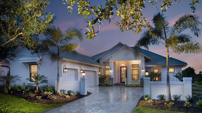 The Montclair by STOCK Signature Homes at The Lake Club in Lakewood Ranch Florida