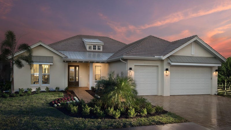 The Plantation II by STOCK Classic Homes at Naples Reserve (Elevation A)