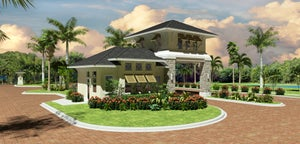 Rendering of the Gatehouse at WildBlue in Estero Florida