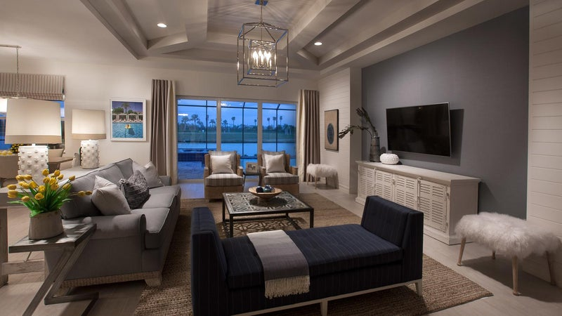 The Great Room of the Marathon II by STOCK Classic Homes