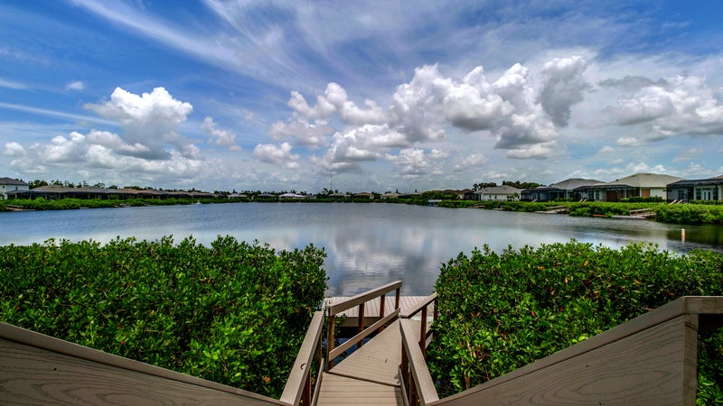 Residential Dock at Hidden Harbor in Fort Myers Florida