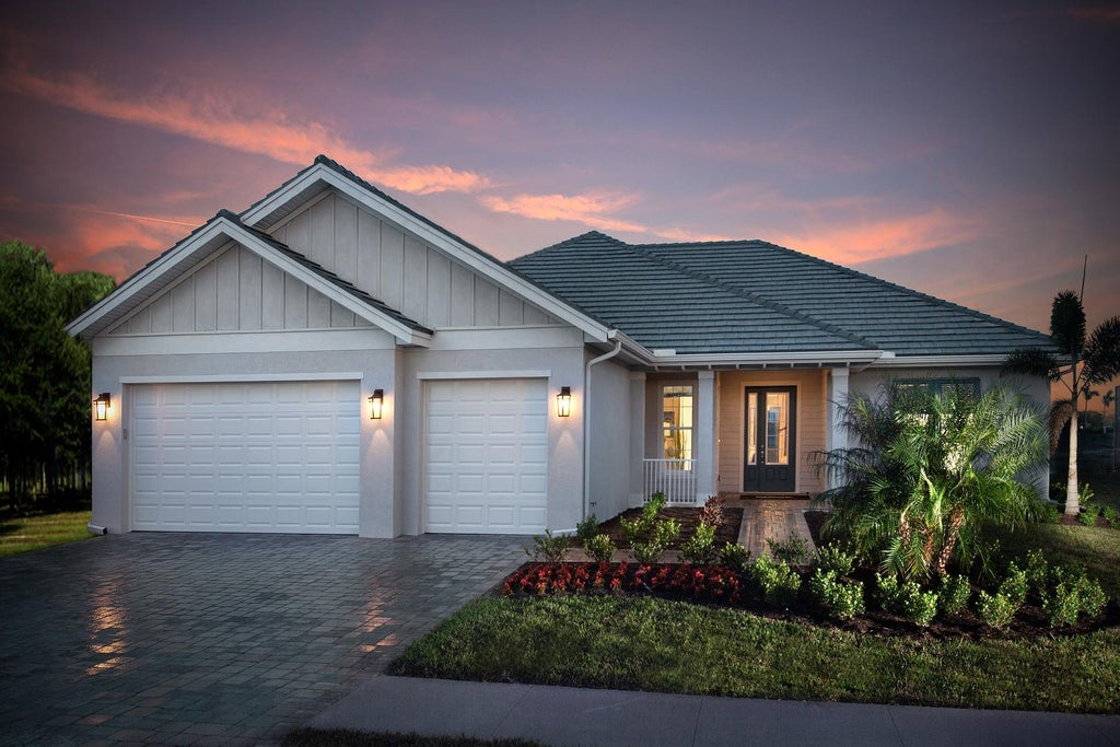 The Marathon II by STOCK Classic Homes at Naples Reserve (Elevation A)