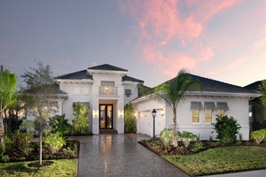 The Glenmore by STOCK Signature Homes at The Lake Club in Lakewood Ranch Florida (Elevation D)