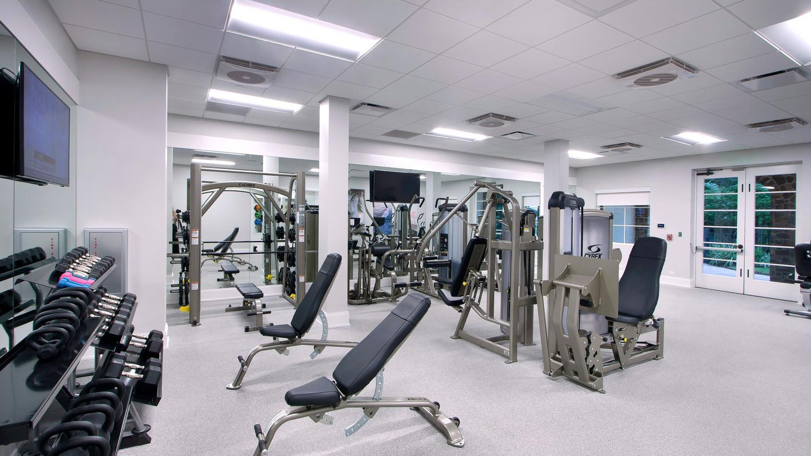 The Fitness Center at the Lake Club in Lakewood Ranch Florida