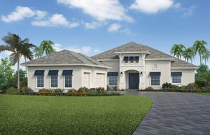 The Livia (Elevation A) by STOCK Signature Homes at WildBlue in Estero Florida