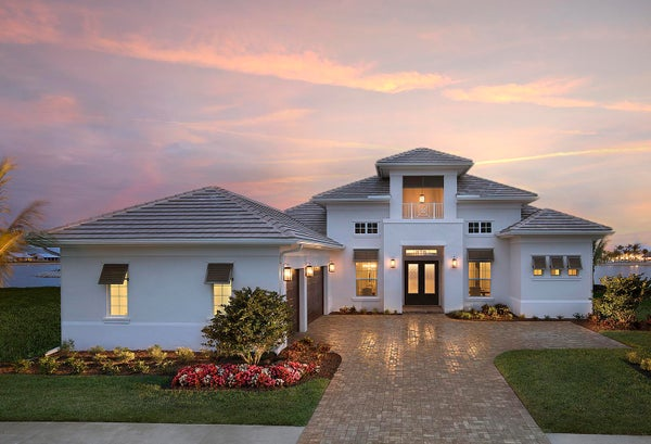 The Muirfield III by STOCK Signature Homes at Naples Reserve in Naples Florida