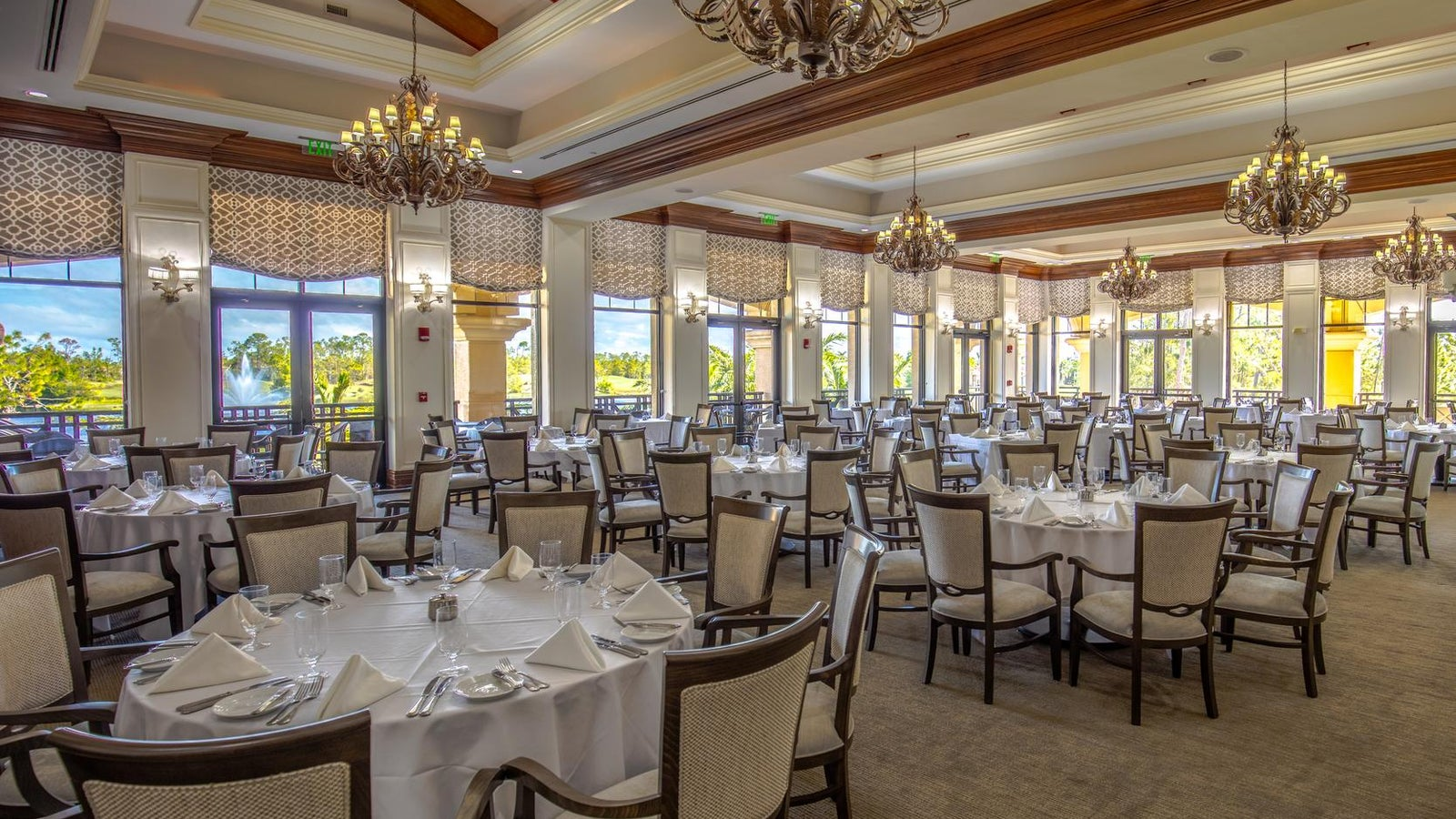 Fine Dining at The Club at Olde Cypress in Naples Florida