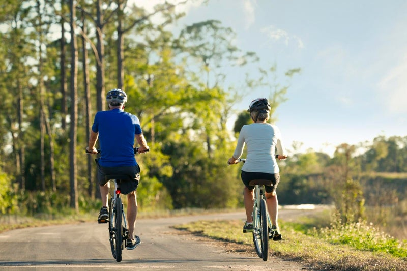Biking Trails at The Isles of Collier Preserve in Naples Florida