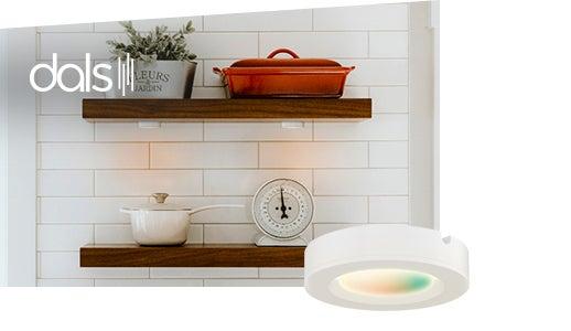 DALS luminaire DEL pour cabinet