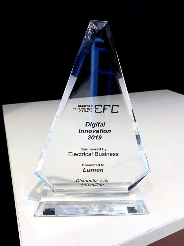 Lumen gagne le prix de l'innovation numérique