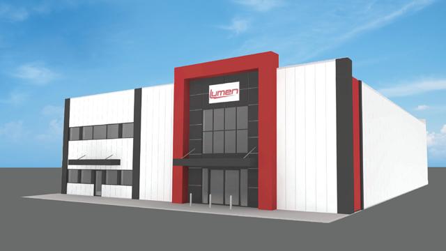 Quebec's largest distributor of electric equipment   Lumen