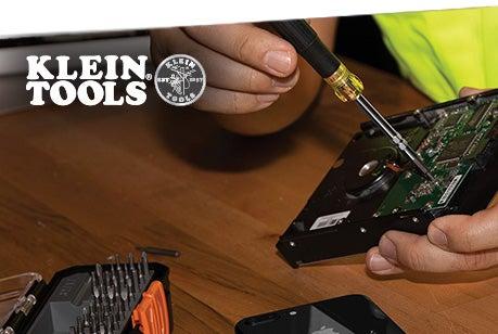 Jeu de tournevis de précision tout-en-1 avec étui Klein Tools