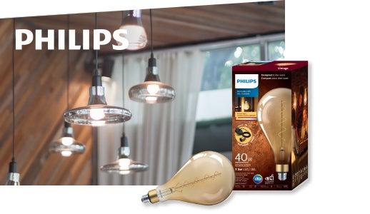 Ampoule vintage DEL de Philips