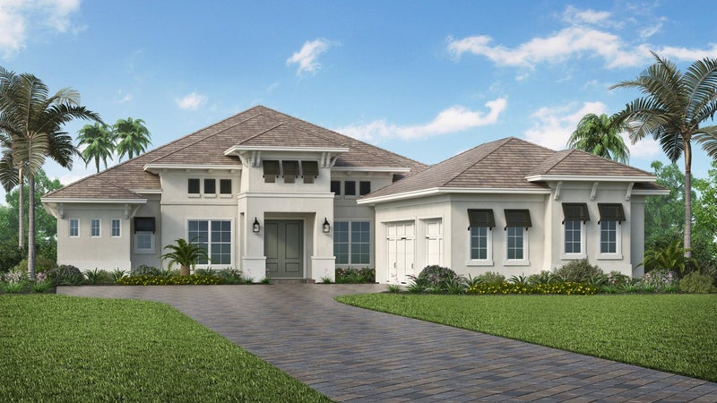 The Westbrook (Elevation D) by STOCK Signature Homes