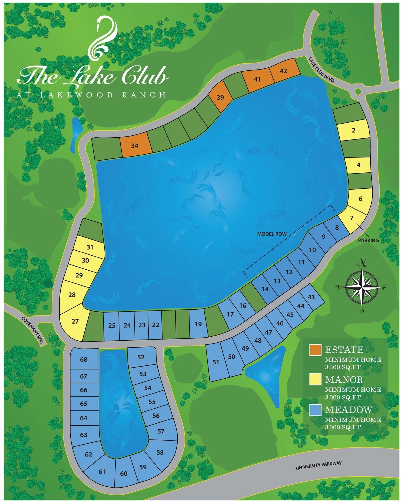 Lake View Estates at The Lake Club