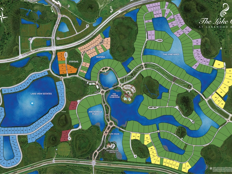 The Lake Club / Site Plan