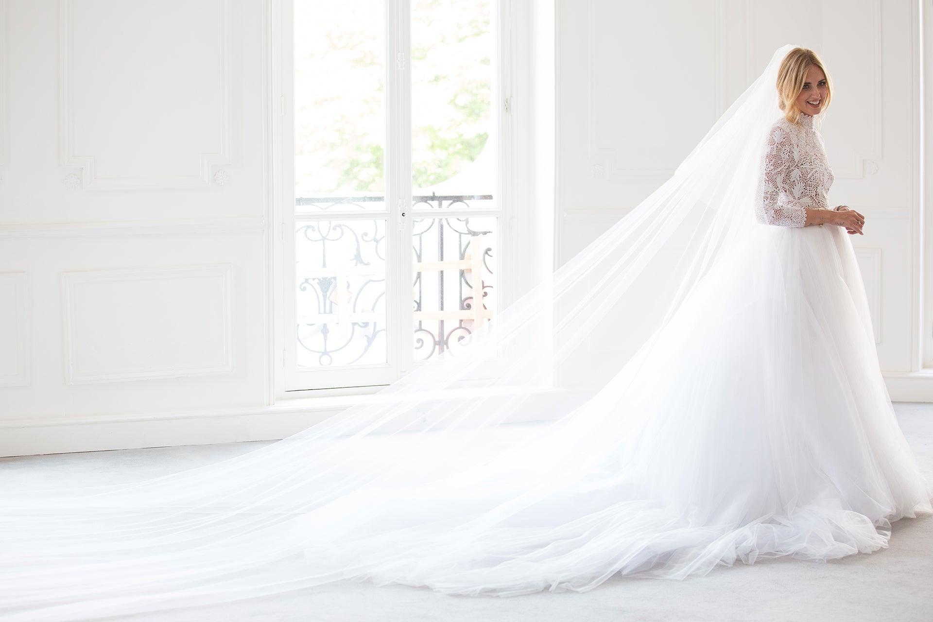Exkluzivne Chiara Ferragni A Jeji Svatebni Saty Dior Haute Couture