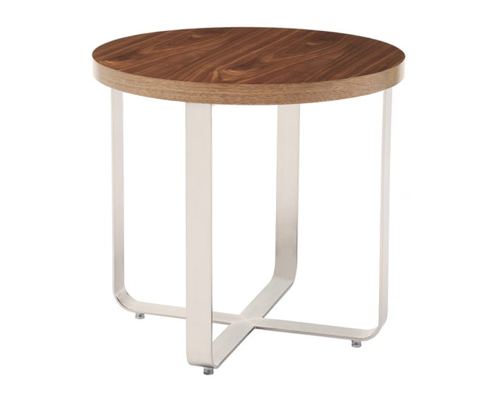 Artesia End Table Natural Walnut D Style