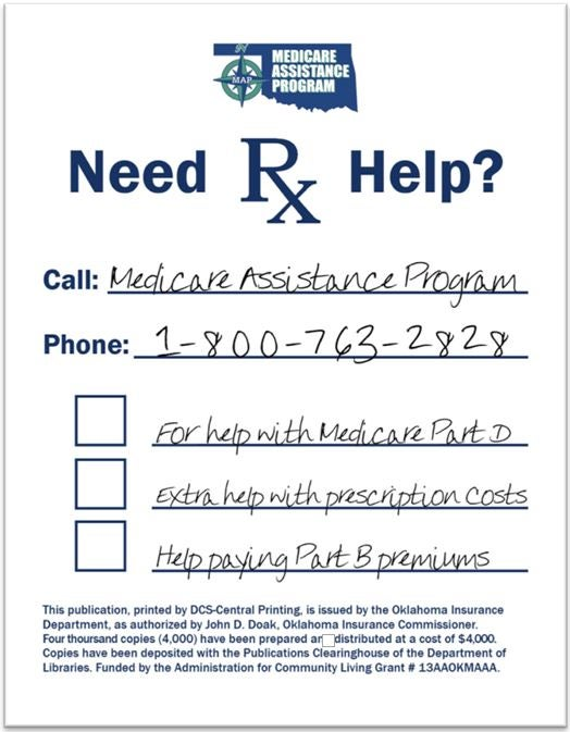 Prescription pad for MIPPA benefits