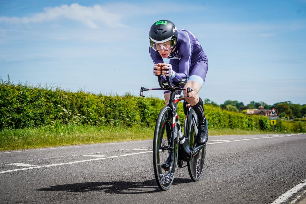 Keeping my focus in the Tour of Cambridgeshire Chrono