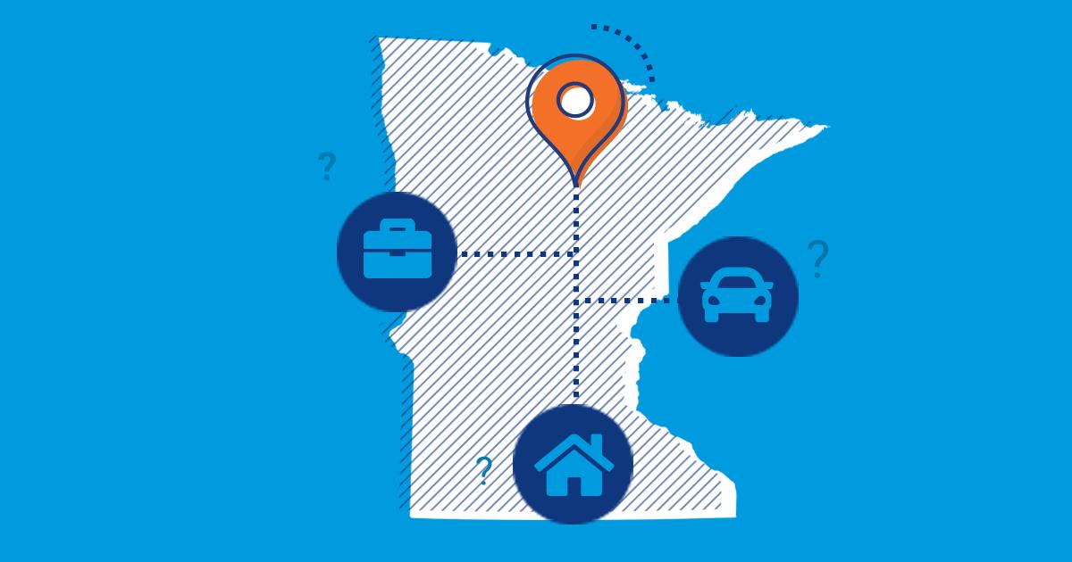 Minnesota Car Insurance State Image