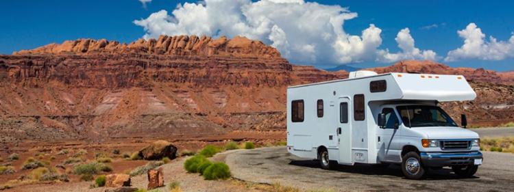 RV trip in Arizona