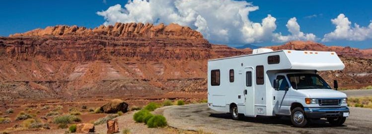 RV trip in Arizona