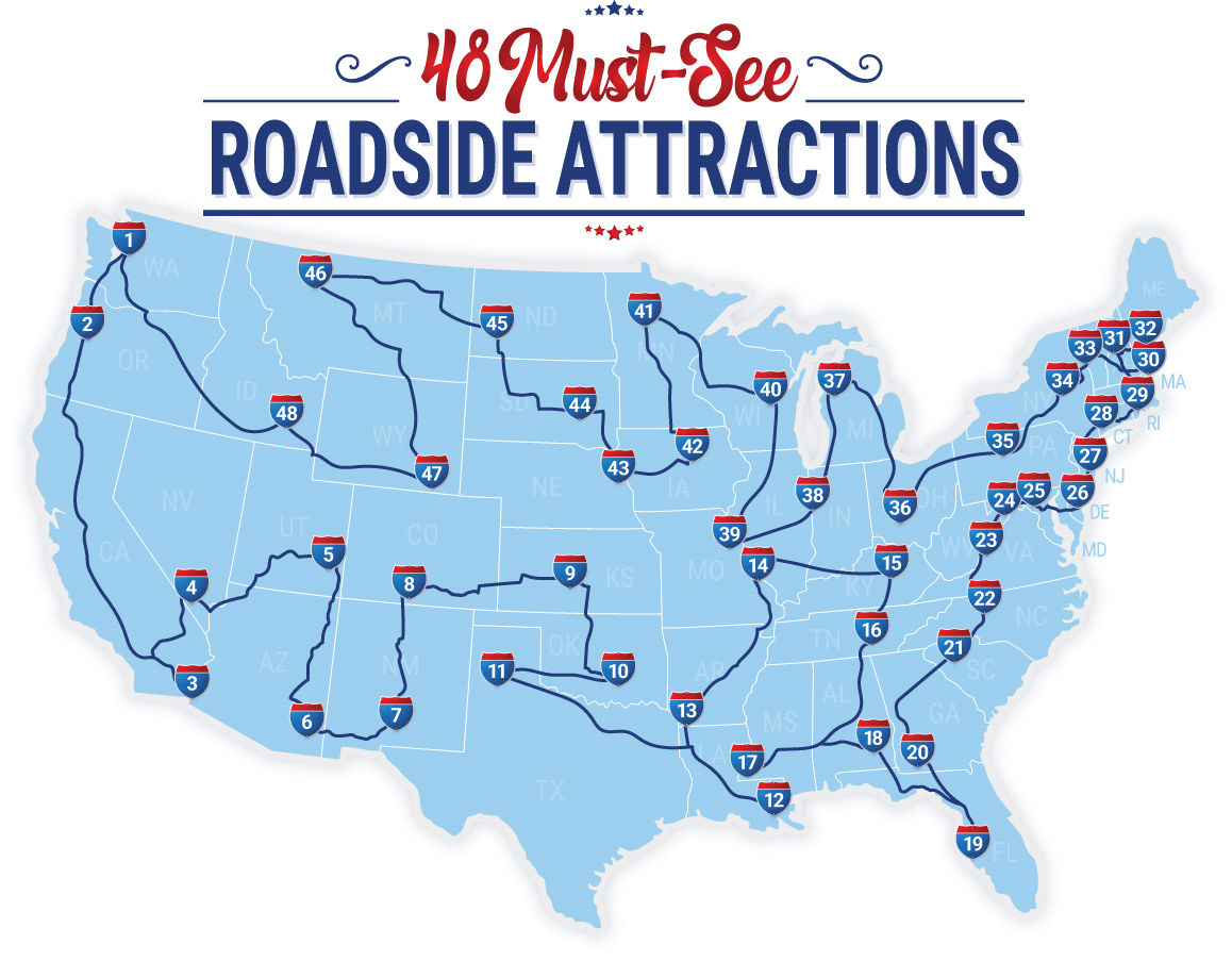 the best places to visit when going on a road trip