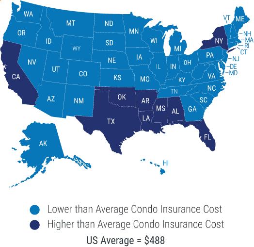 Condo Averages Map