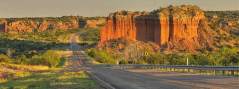 Palo Duro Canyon on Highway 207 just south of Amarillo Texas