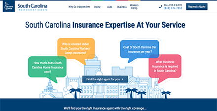 South Carolina Independent Agents Consumer Website