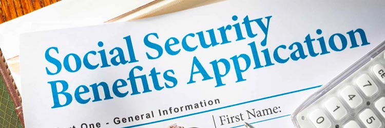 Social security disability insurance application
