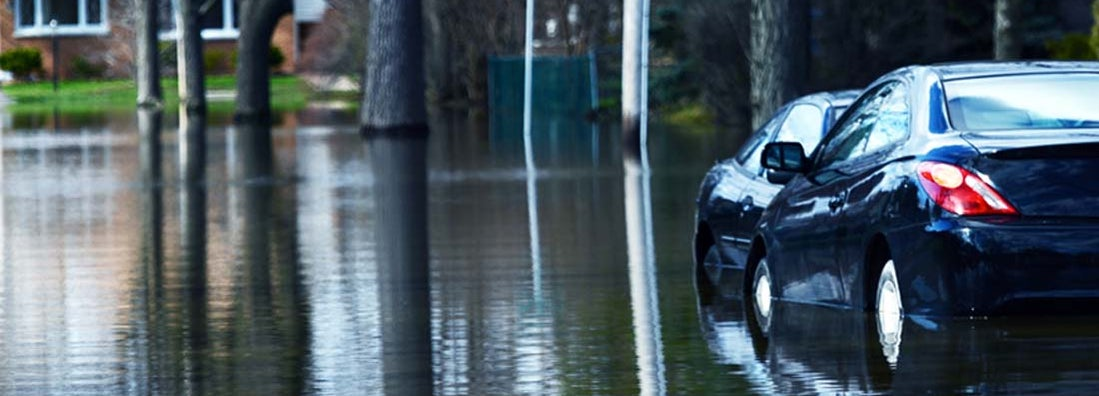 Car insurance steps after a flood
