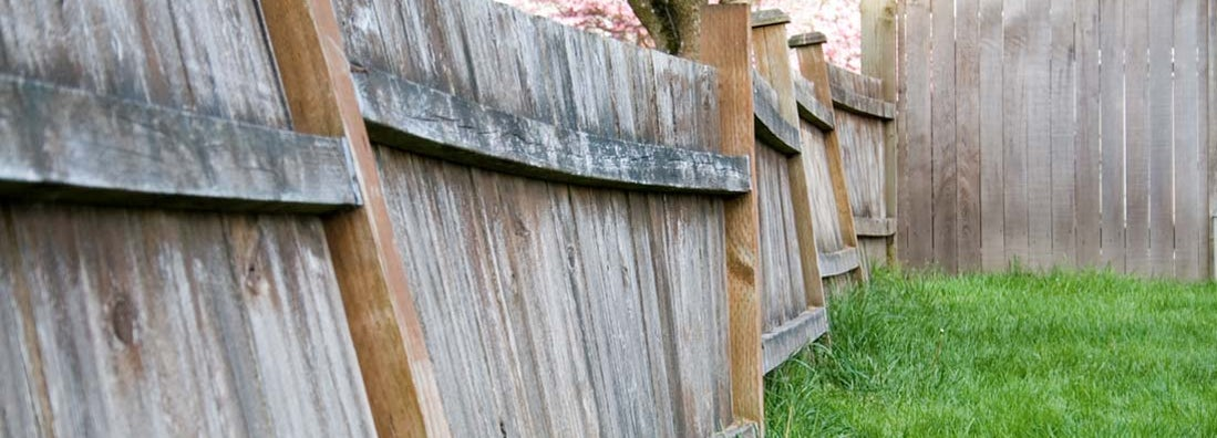 A shared fence falls